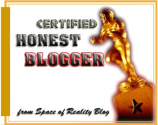 Certified Honest Blogger
