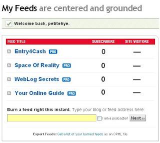 Feedburner Subscribers Dropped To Zero?