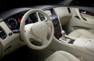 2008 Infiniti EX35 (interior)