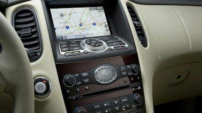 2008 Infiniti EX35 (interior, navigation)