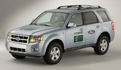 Ford Escape Hybrid E85 SUV (front)