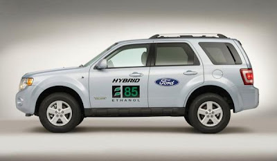 Ford Escape Hybrid E85 SUV (side)