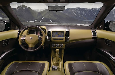 Peugeot Holland & Holland 4007 Concept SUV (interior)