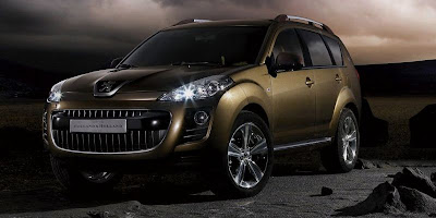 Peugeot Holland & Holland 4007 Concept SUV (front)