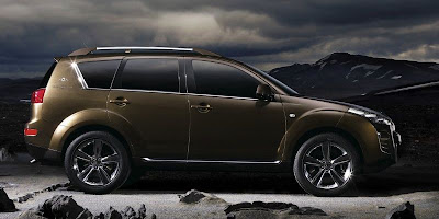Peugeot Holland & Holland 4007 Concept SUV (side)