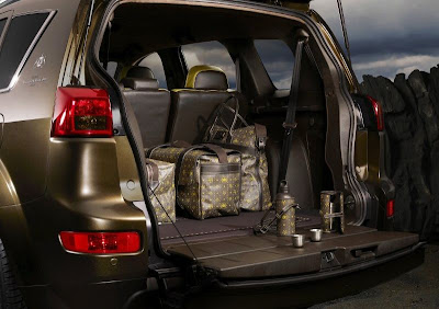 Peugeot Holland & Holland 4007 Concept SUV (luggage compartment)