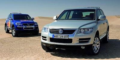 2007 VW Touareg (front)