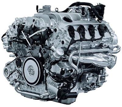 2007 VW Touareg (engine)