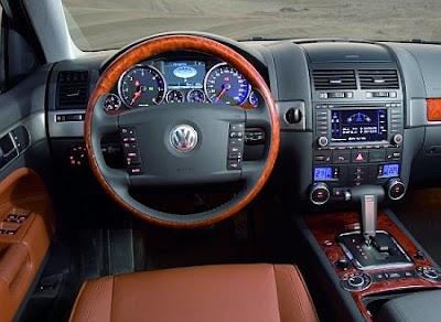 2007 VW Touareg (dashboard)