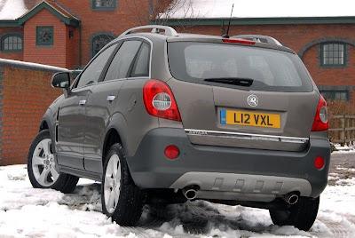 Vauxhall Antara (back)