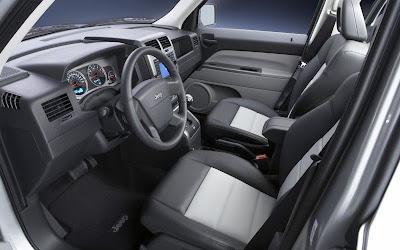 Jeep Patriot (interior)