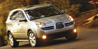 Redesigned 2008 Subaru B9 Tribeca to be unveiled in New York
