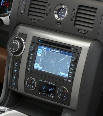 2008 Hummer H2 (OnStar navigation screen)