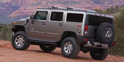 2008 Hummer H2 (back)