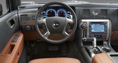2008 Hummer H2 (dashboard)