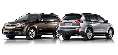 2008 Subaru Tribeca loses its face