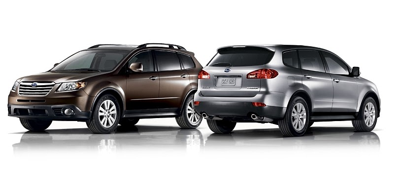 2008 subaru tribeca loses its face suv buster. Black Bedroom Furniture Sets. Home Design Ideas
