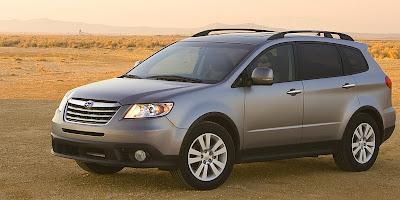 2008 Subaru Tribeca (front)