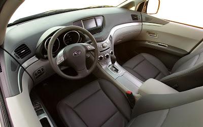 2008 Subaru Tribeca (interior)