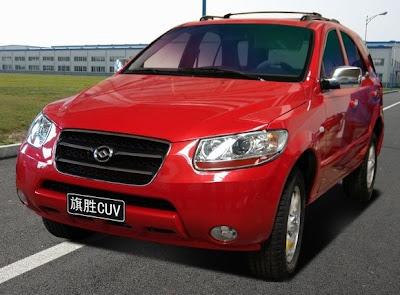 Huanghai to introduce Hyundai Santa Fe clone
