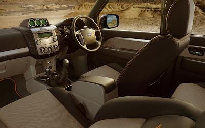Ford Ranger Wildtrak (interior)