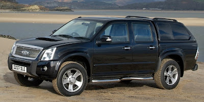 2007 Isuzu Rodeo receives Prodrive tuning package