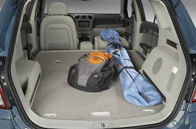 2008 Saturn Vue (luggage compartment)