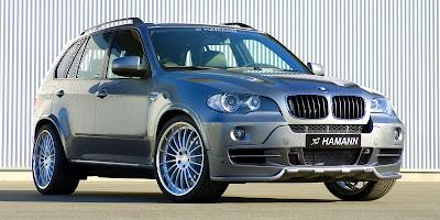 BMW X5 E70 tuned by Hamann