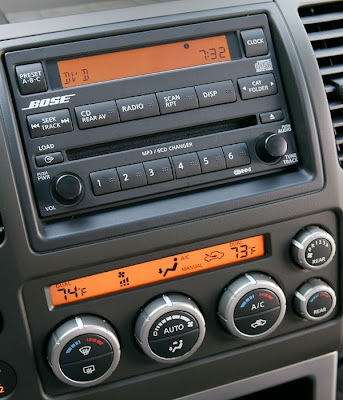 2008 Nissan Pathfinder (Bose audio system)