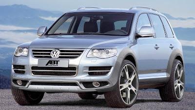 Abt tunes VW Touareg