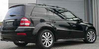 Art Tuning X64 package for the Mercedes-Benz GL-Class SUV (back)