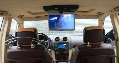Art Tuning X64 package for the Mercedes-Benz GL-Class SUV (multimedia LCD monitor)