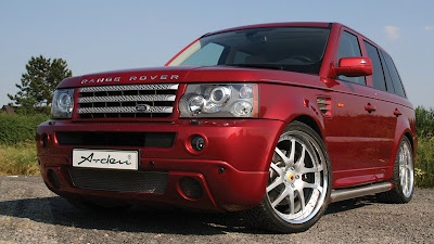Range Rover Sport TDV8 tuned by Arden (red)