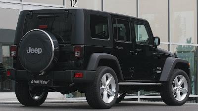 Jeep Wrangler StarTech exterior tuning