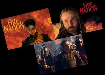 Die Legende von Aang Film - Die Feuernation