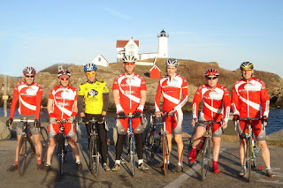 NorEast Cycling at Nubble Lighthouse, York, Maine