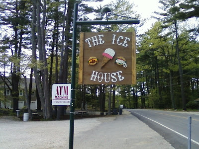 Bike to The Ice House, Route 1B, New Castle, New Hampshire