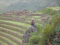 Paredão em degraus de Maccu Picchu