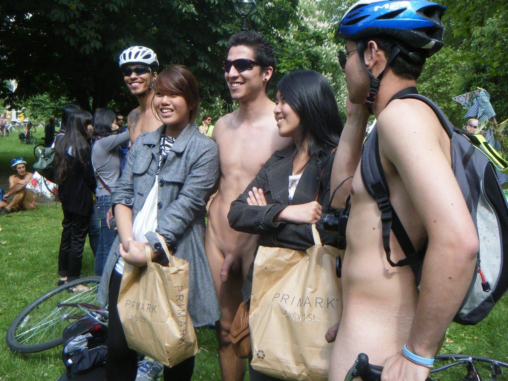 Naked man and naked eoman making love think