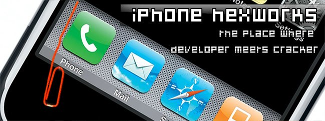 iPhone-Hexworks, where developer meets cracker !!!
