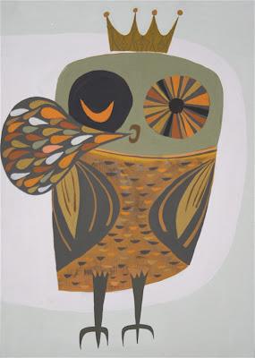 Matte Stephens Owl 2 Painting