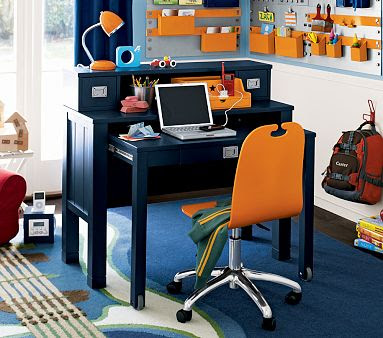 Navy Desk Idea Magic Brush