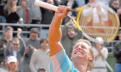 David Nalbandian heroe en la Copa Davis