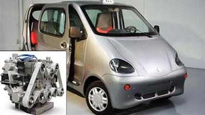 El auto que usará aire comprimido como combustible
