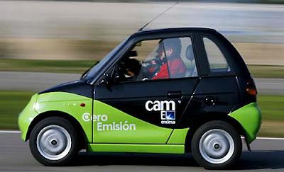 Auto Reva 100% electrico