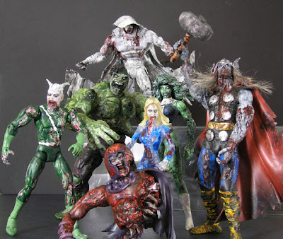 Marvel Zombie Custom Action Figures