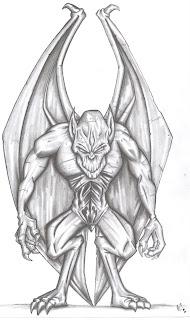 Alfredmad6 Art Inks Gargola
