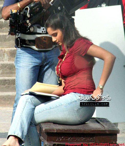 Sania Mirza Blue Film 23