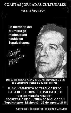 """CUARTAS JORNADAS CULTURALES """"MAGAÑISTAS"""" 2008"""