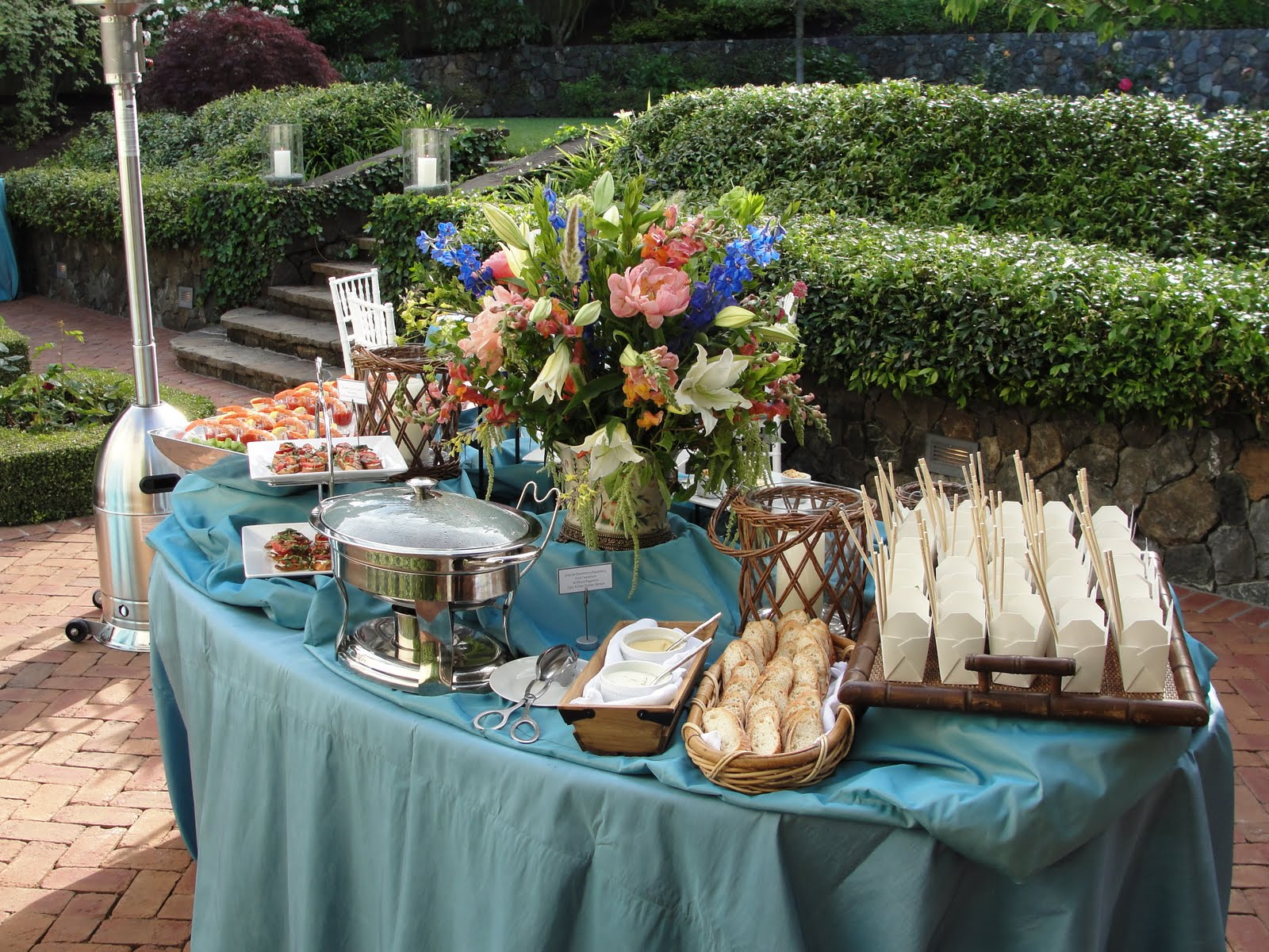 Butler For Hire Catering Food Blog Spring Garden Party